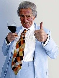 The comedy character Sir Les Patterson, in the suit Barry Humphries has made for him, when he stops in with us in Hong Kong Barry Humphries, Rhyming Slang, Dame Edna, Black Sheep Of The Family, Tony Abbott, Pet Beds, Animal Design, Bed Design, Comedians