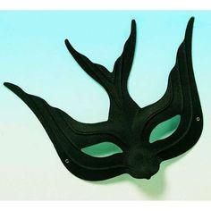 Black bird mask - Photo