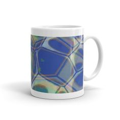 Abstract art coffee mugs from  - Dogford Studios