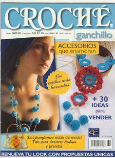 Revista Accesorios de Bisuteria Patrones - Patrones Crochet