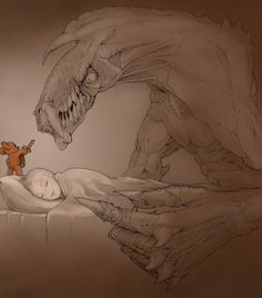 Now we all know what Teddy Bears do at night.