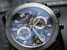 TAG Heuer Carrera Heuer-02T Tourbillon Chronograph Watch Review