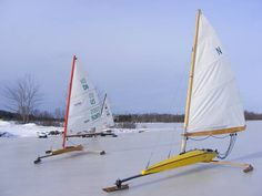 Ice Boat Pocket Skeeter Iceboat