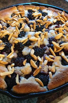 """Chef John's Blackberry Buckle 