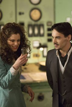 Jonathan Rhys Meyers and Jessica De Gouw in Episode Four of Dracula TV Series - sky.com/dracula