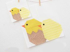Chicken quilt - Five Sweet Quilt Blocks for Easter and More – Chicken quilt Antique Quilts, Vintage Quilts, Pattern Blocks, Quilt Patterns, Chicken Quilt, Quilt Storage, Flower Quilts, Basket Quilt, Spring Projects
