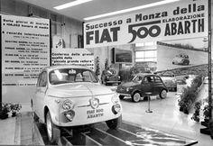 Un modelo del Fiat 500 Abarth antiguo.. para los que les guste lo vintage más que lo moderno.