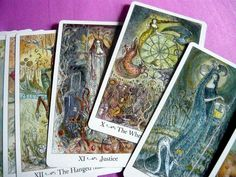Paulina Tarot ~ really like the look of the cards from what I can see.