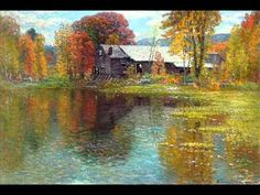 John Joseph Enneking  (1841-1916), video of some of the works of this American painter
