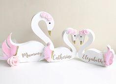 Swan Princess/Shelfie/Nursery/Bedroom/Decor