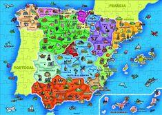 PUZZLE PROVINCIAS Y AUTONOMIAS DE ESPAÑA
