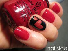 Xoxo nails | #nailedit #nails #manicure #love #nailpolish  #