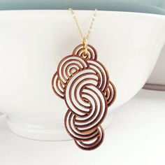 Large Cloud Pendant with Chain ~The Harbinger Co. $86  http://www.theharbingerco.com/product/large-cloud-pendant-with-chain