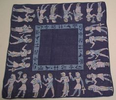 Vintage Egyptian Hanky by murdups on Etsy, $38.00