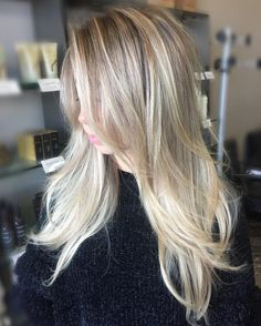 40 Picture-Perfect Hairstyles for Long Thin Hair - - Layered Ash Blonde Balayage Hair Thin Hair Updo, Long Thin Hair, Long Hair Cuts, Short Hairstyles Fine, Long Layered Haircuts, Haircuts For Fine Hair, Trendy Hairstyles, Beautiful Hairstyles, Curly Hairstyles