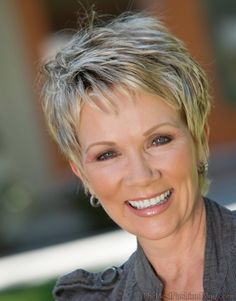 pixie haircuts for mature fine hair - Google Search