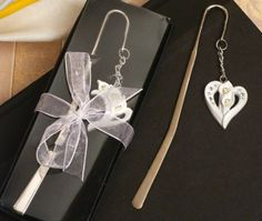 Graceful Calla Lily Page Marker from Wedding Favors Unlimited