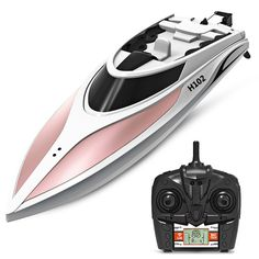 RC Boat, SGOTA Toy Boats High Speed Remote Control Boat Fast RC Boat Racing for Lakes/Pools/Ponds (Only Works in Water) -- You can get additional details at the image link. (This is an affiliate link) Plywood Boat Plans, Wooden Boat Plans, Wooden Boats, Remote Control Boat, Radio Control, High Speed 2, Jon Boat, Boat Dock, Boat Building Plans