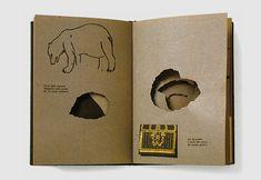 Nella Notte Buia — Written and designed by Bruno Munari. Corraini Edizioni, 1956