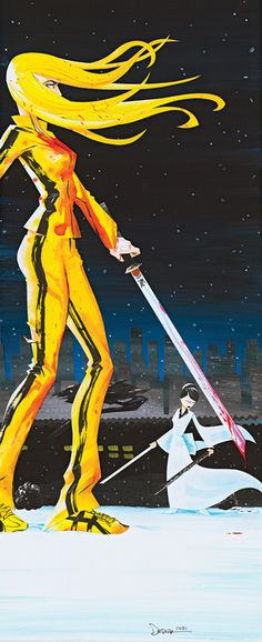 Kill Bill: Bride and O-Ren Ishii