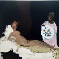 Genieve Figgis「Olympia(after Manet)」