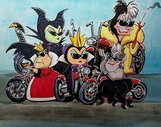 Former Disney/Dreamworks artist, Thomas Estrada's custom commissions, original art and prints Evil Disney, Dark Disney, Cute Disney, Evil Villains, Disney Villains, Disney And Dreamworks, Disney Pixar, Disney Stained Glass, Disney Queens