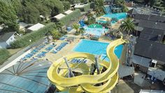 Camping L'Atlantique, Beg-Meil. As well as the pool facilities and water slides, Beg-Mell is close to a lovely beach with rock pools. There is also a tennis court & 3 table tennis tables.