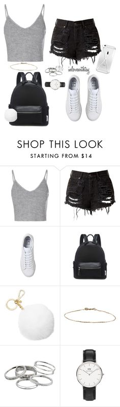 1❤ by inlovewithtay on Polyvore featuring mode, Glamorous, Daniel Wellington, Kendra Scott, Michael Kors and NIKE