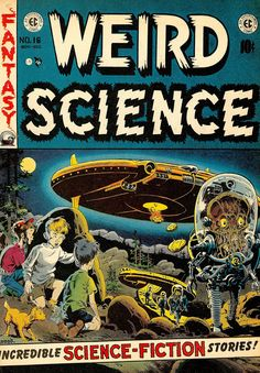 Weird Science #16 cover by Wally Wood!