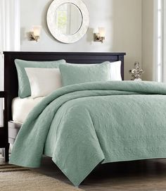 one of top favorite quilts - Monterey Sea Foam Green Quilt Set