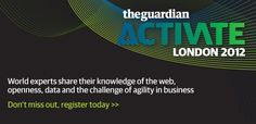 Activate London - London, UK - June 27 http://www.guardian.co.uk/activate/london#
