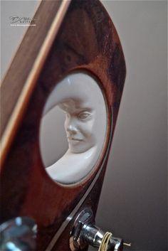 2010 Klein Guitars Pink Ivory Moon - Acoustic Guitar
