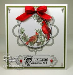 Christmas Greetings by scrappigramma2 - Cards and Paper Crafts at Splitcoaststampers
