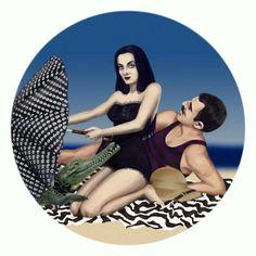 gomez addams beach - Google Search
