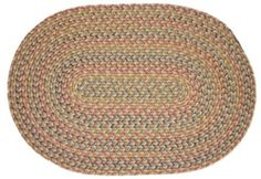 Blossom Braided Rugs - Vanilla 2x3 Oval Braided Rug by Rhody Rugs. $28.99. Quality Crafted in New England. 100% Nylon Synthetic Blend. Guaranteed to lie flat!. 2x3 Oval Braided Rug. Available in matching Chair Pads and Stair Treads!. Blossom Braided Rug Collection Braided Rugs will make any room in your home more inviting the moment they touch the floor - Blossom braided rugs are crafted from a durable nylon fiber so they will last, and will maintain their beauty ...