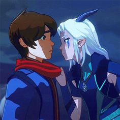 If you loved Avatar: The Last Airbender, I'm pretty sure you'll love Netflix's new show: The Dragon Prince. While scrolling through, The Dragon Prince popped up Rayla Dragon Prince, Prince Dragon, Dragon Princess, Dragon Prince Season 3, Rayla X Callum, Animation, Fan Art, The Last Airbender, Dreamworks
