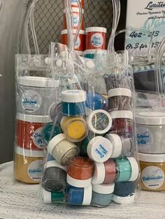 Packer's choice of 31 random paints and secrets samples