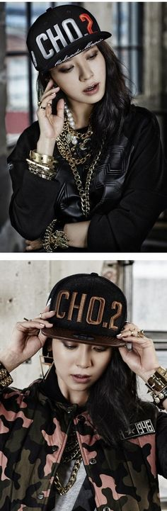 Song Ji Hyo rocks the cover of 'Campus 10' with her snapback fashion | allkpop.com