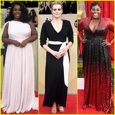Uzo Alona, Taylor Schilling, & Danielle Brooks Go Glam for SAG Awards 2018 Danielle Brooks, Taylor Schilling, Sag Awards, Prom Dresses, Formal Dresses, Glamour, Fashion, Red Carpet, Moda