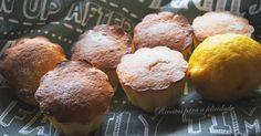 """São fofos, deliciosos e aromáticos, como tudo o que leva limão. A receita ,veio do blog da querida Sylvie o """" A Culinária e Eu """" que eu uma ..."""