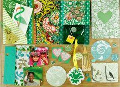 snailmail green - groen #vruijke