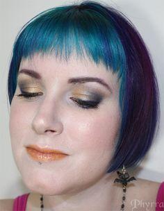 BftE Purple and Gold Smoky Glance Neutral Eye Makeup, Bright Eye Makeup, Subtle Makeup, Smokey Eye Makeup, Metallic Eyeshadow, Eyeshadow Looks, Sexy Makeup, Makeup Looks, Rainbow Makeup