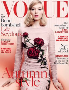 Lea Seydoux | Photography by Craig McDean | For Vogue Magazine UK | November 2015