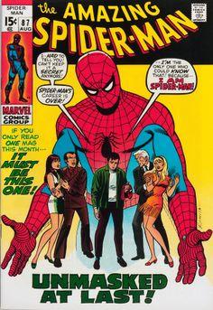 Spider-Man n°87 (1970) - Cover by John Romita