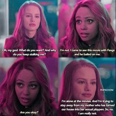 Cheryl and Toni Riverdale Series, Riverdale Quotes, Watch Riverdale, Riverdale Archie, Bughead Riverdale, Riverdale Funny, Riverdale Comics, Cheryl Blossom Aesthetic, Cheryl Blossom Riverdale