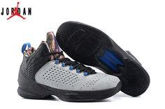 hot sale online 43ca0 785d4 Men s Air Jordan Melo M11 Basketball Shoes Blue Graphite Metallic  Silver Game Royal 716227
