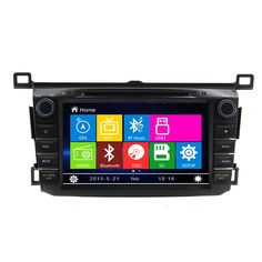 Free Shipping 8 inch Car DVD player GPS navigation System For Toyota RAV4 2013 2014 2015 Stereo Headunit