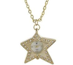 (Novelty Watch Necklace by Garold Miller) jane segerstrom look like yourself and love it book pg46-48. the many recommendations for jewelry for #type1 include = charm bracelets, shiny gold, hearts, butterflies, flowers, stars. ( #type1  corresponds to #spring  in related style systems)
