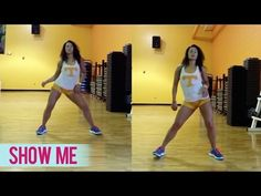Kid Ink - Show Me ft. Chris Brown (Dance Fitness with Jessica) - YouTube
