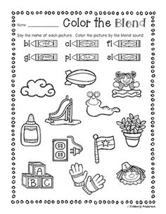 blends worksheets and activities br worksheets activities and literacy. Black Bedroom Furniture Sets. Home Design Ideas